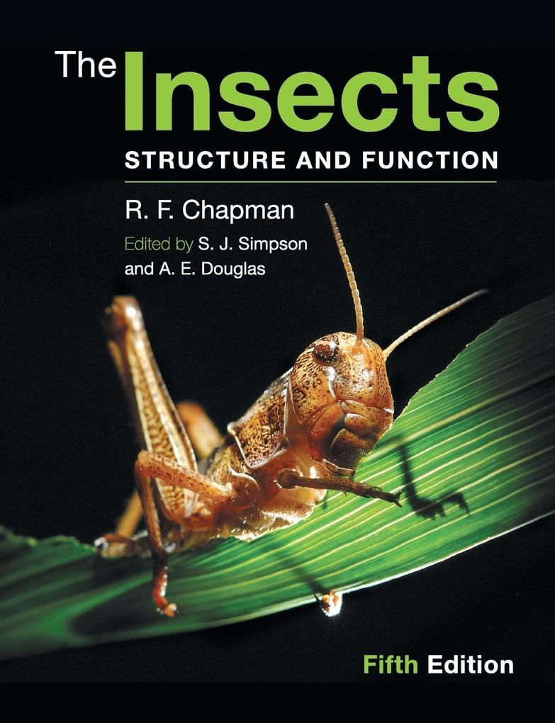 The Insects als Buch von R. F. Chapman