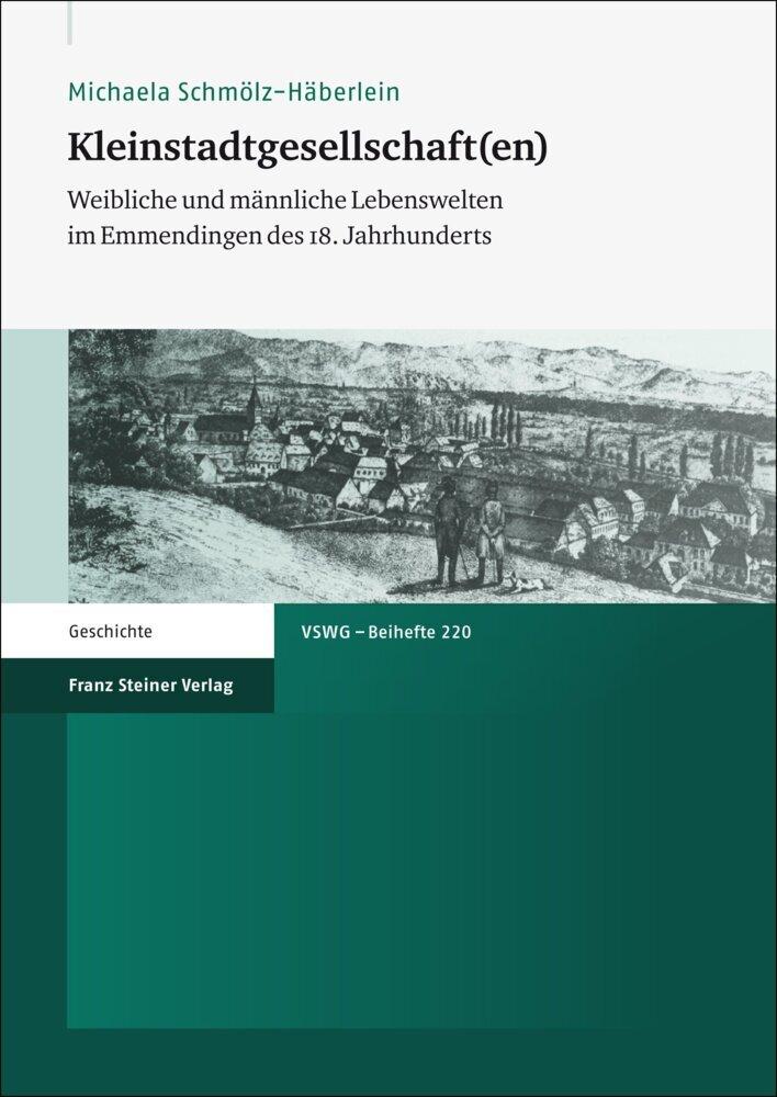 Kleinstadtgesellschaft(en) als Buch von Michaela Schmölz-Häberlein