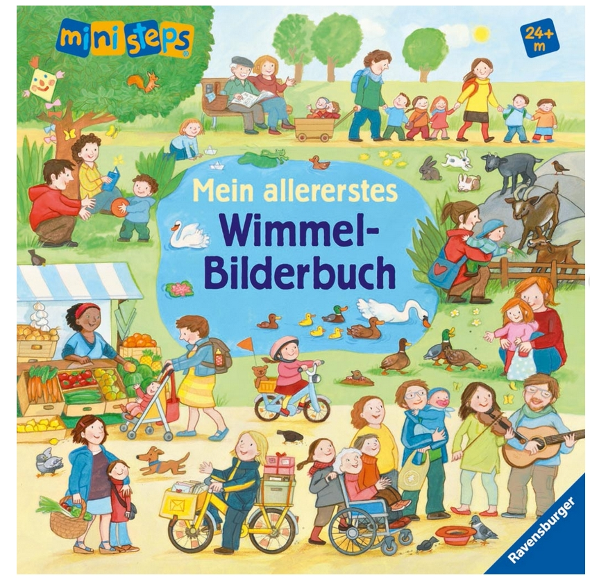 Mein allererstes Wimmel-Bilderbuch als Buch von Daniela Prusse