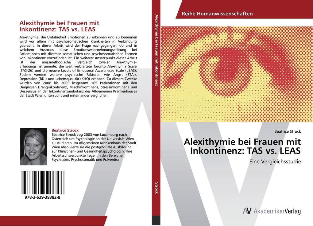 Alexithymie bei Frauen mit Inkontinenz: TAS vs....