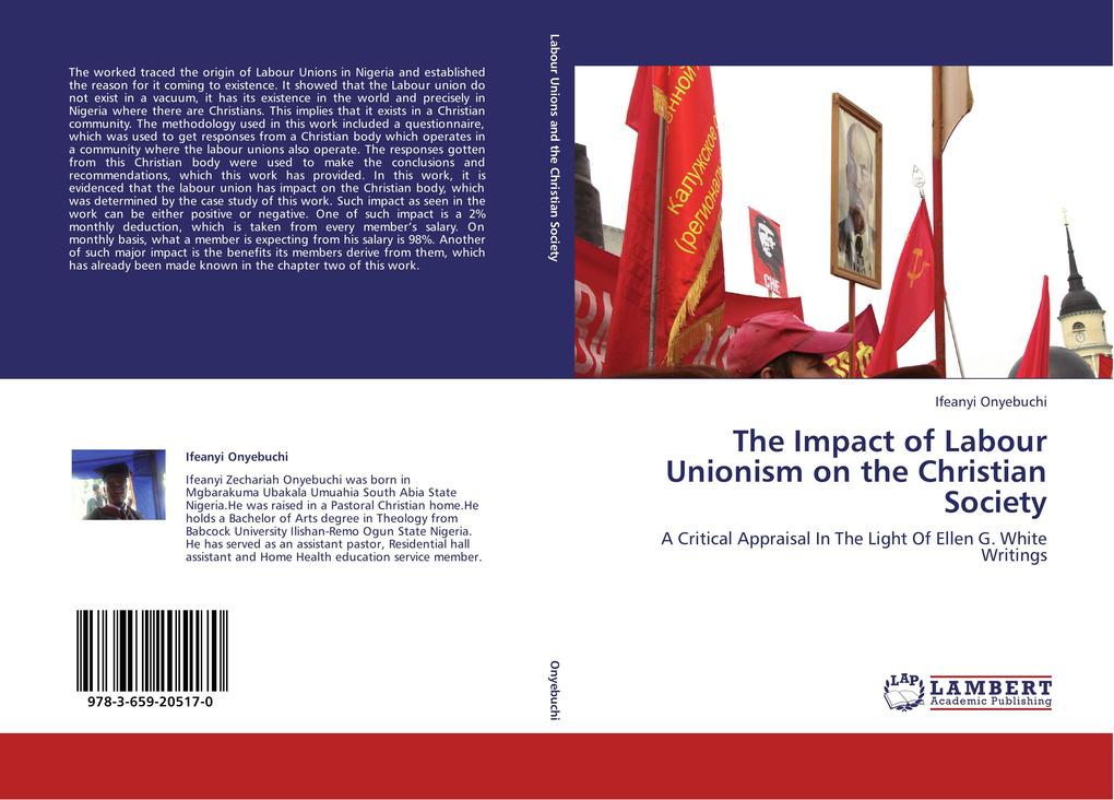 The Impact of Labour Unionism on the Christian Society als Buch von Ifeanyi Onyebuchi