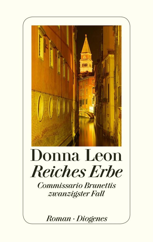 Reiches Erbe als eBook von Donna Leon