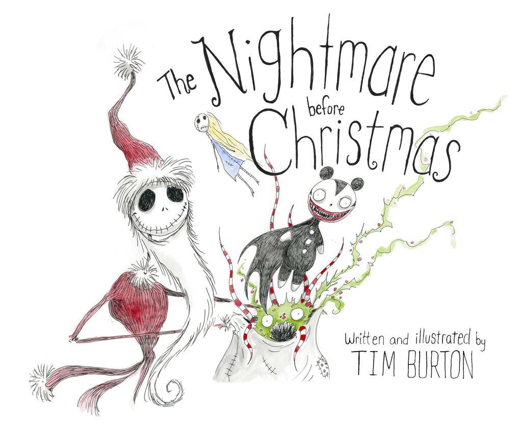 The Nightmare Before Christmas. 20th Aniversary Edition als Buch von Tim Burton