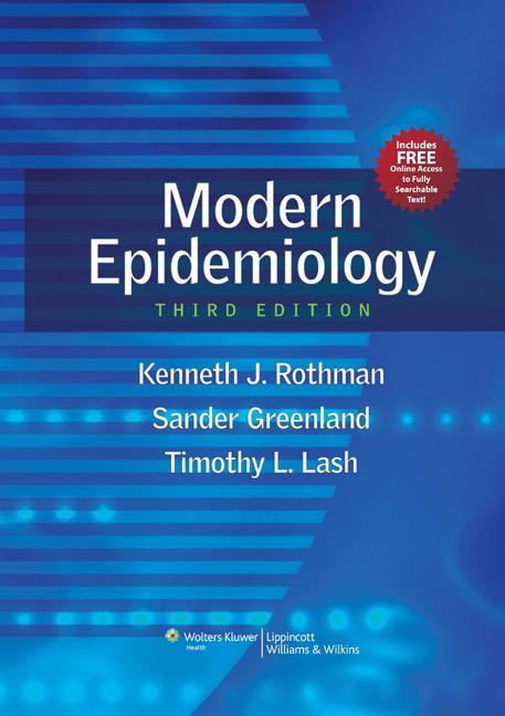 Modern Epidemiology als Buch von Kenneth J. Rothman, Sander Greenland, Timothy L. Lash