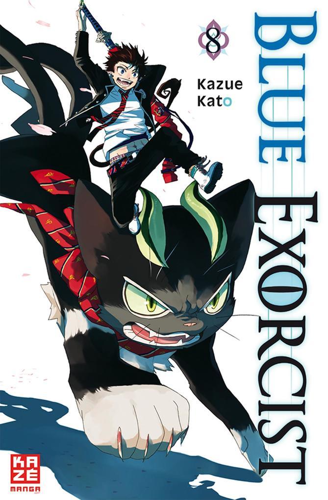 Blue Exorcist 08 als Taschenbuch von Kazue Kato