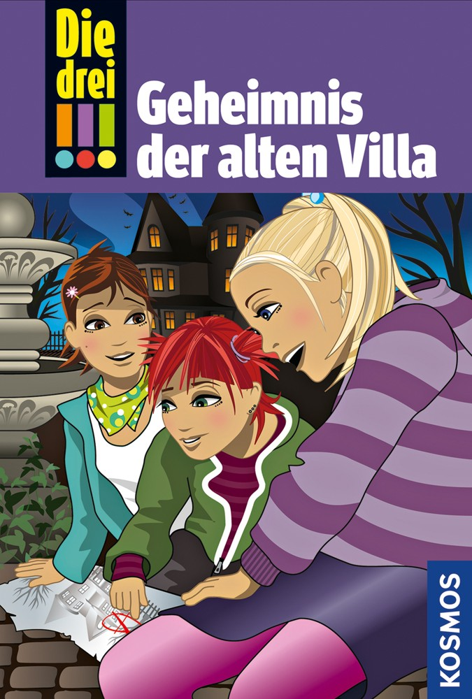 Die drei !!! 42. Geheimnis der alten Villa als Buch von Maja von Vogel
