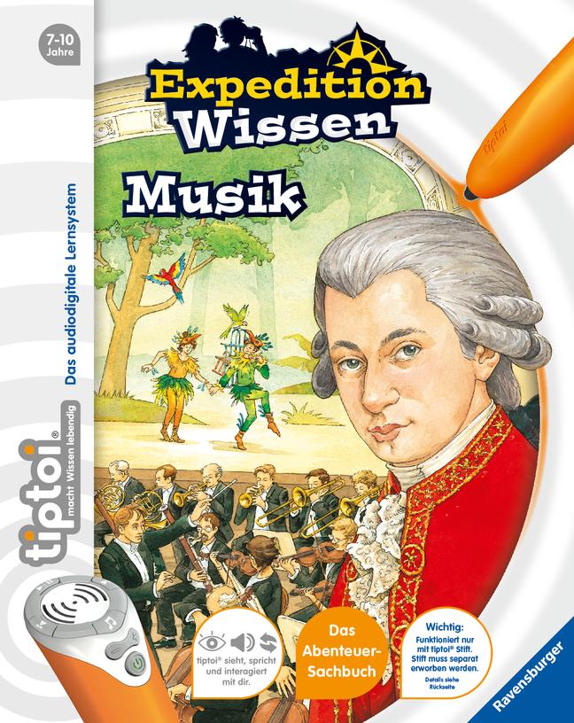 tiptoi® Expedition Wissen: Musik als Buch von Thilo
