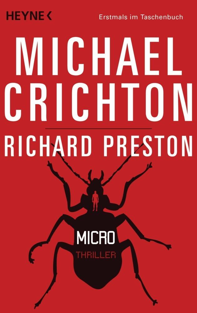 Micro als Taschenbuch von Michael Crichton, Richard Preston