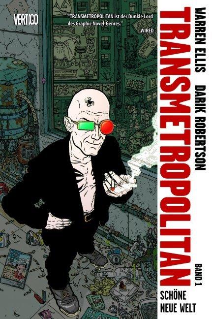 Transmetropolitan 01 als Buch von Warren Ellis