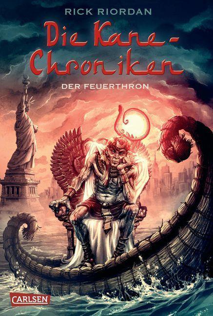 Die Kane-Chroniken, Band 02. Der Feuerthron als Buch von Rick Riordan