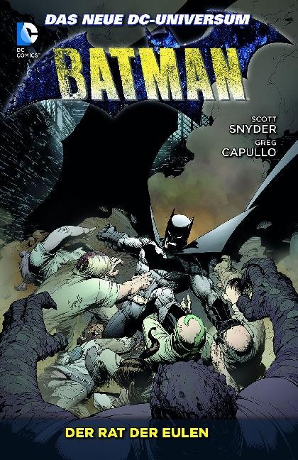 Batman 01: Der Rat der Eulen als Taschenbuch von Scott Snyder, Greg Capullo
