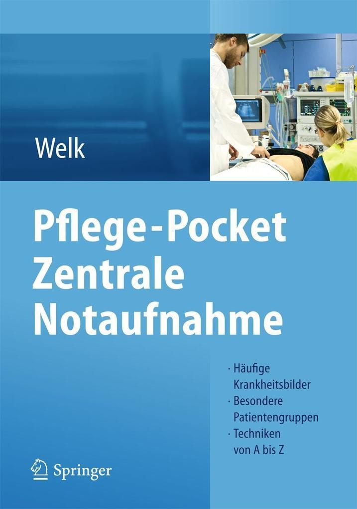 Pflege-Pocket Zentrale Notaufnahme als Buch von Ina Welk