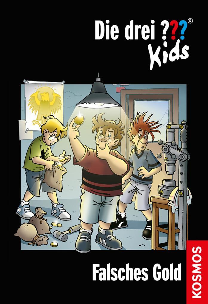 Die drei ??? Kids, 34, Falsches Gold (drei Fragezeichen Kids) als eBook von Boris Pfeiffer