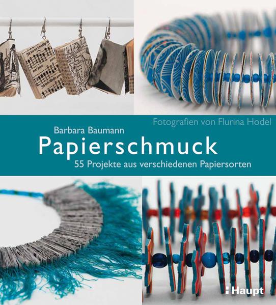 Papierschmuck als Buch von Barbara Baumann