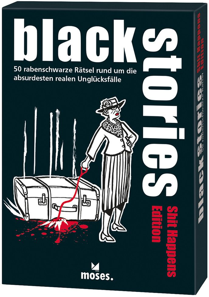black stories- Shit Happens Edition als Buch von Jens Schumacher, Corinna Harder