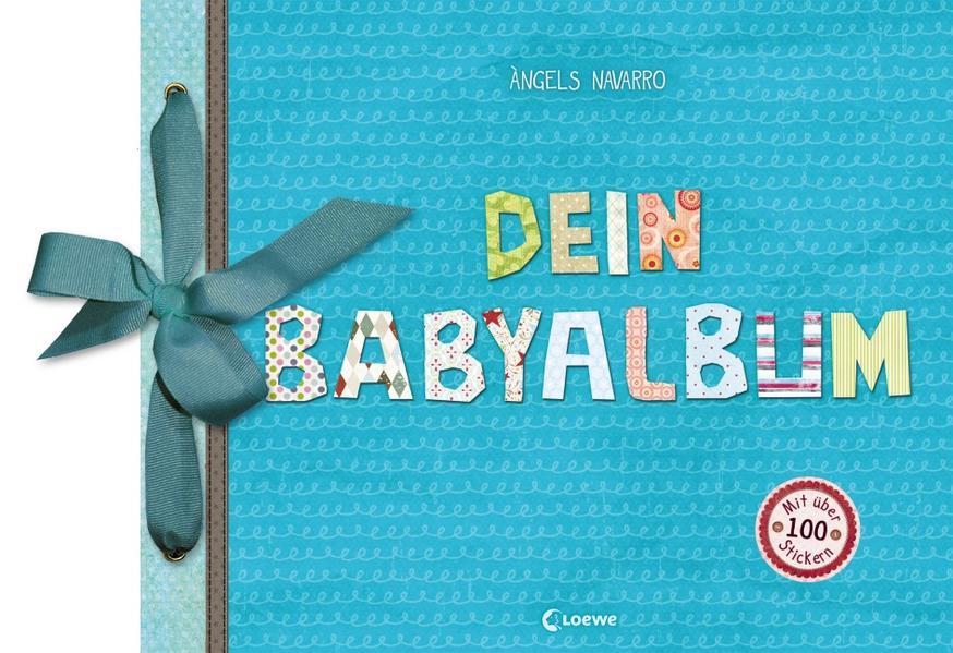 Dein Babyalbum (Junge - blau) als Buch von Àngels Navarro