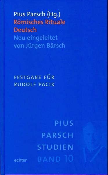 Römisches Rituale Deutsch als Buch von Jürgen Bärsch