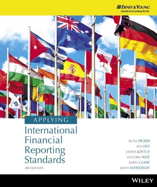 Applying International Financial Reporting Standards als Buch von Ruth Picker, Ken J. Leo, Janice Loftus, Victoria Wise,