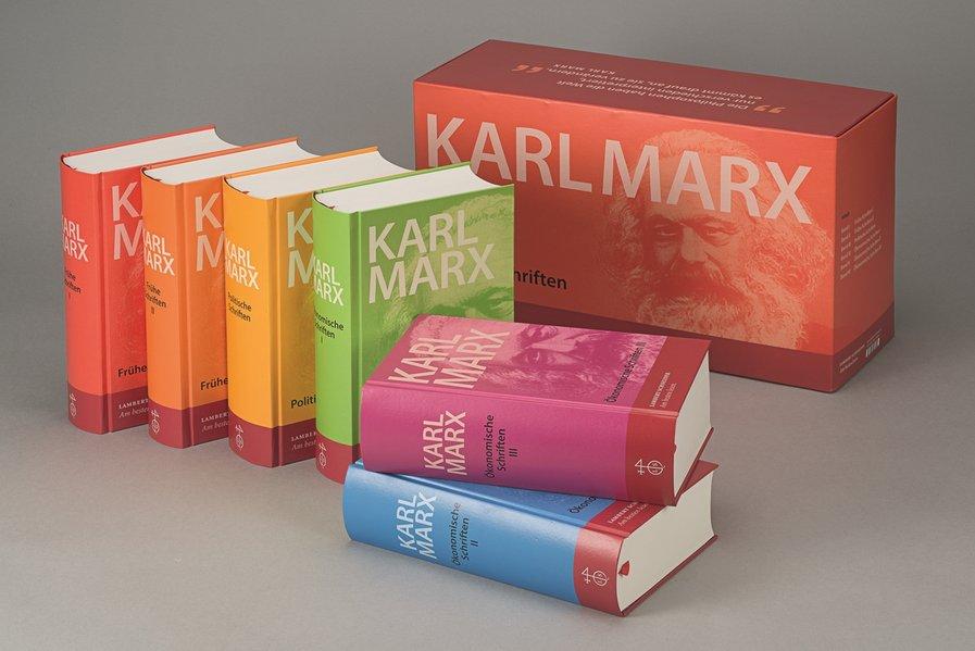 Werke, Schriften. 6 Bände als Buch von Karl Marx