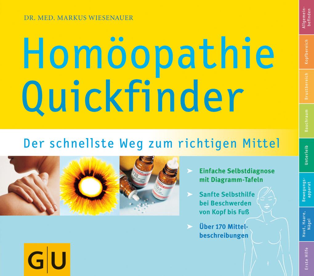 Quickfinder Homöopathie als eBook von Markus Wiesenauer