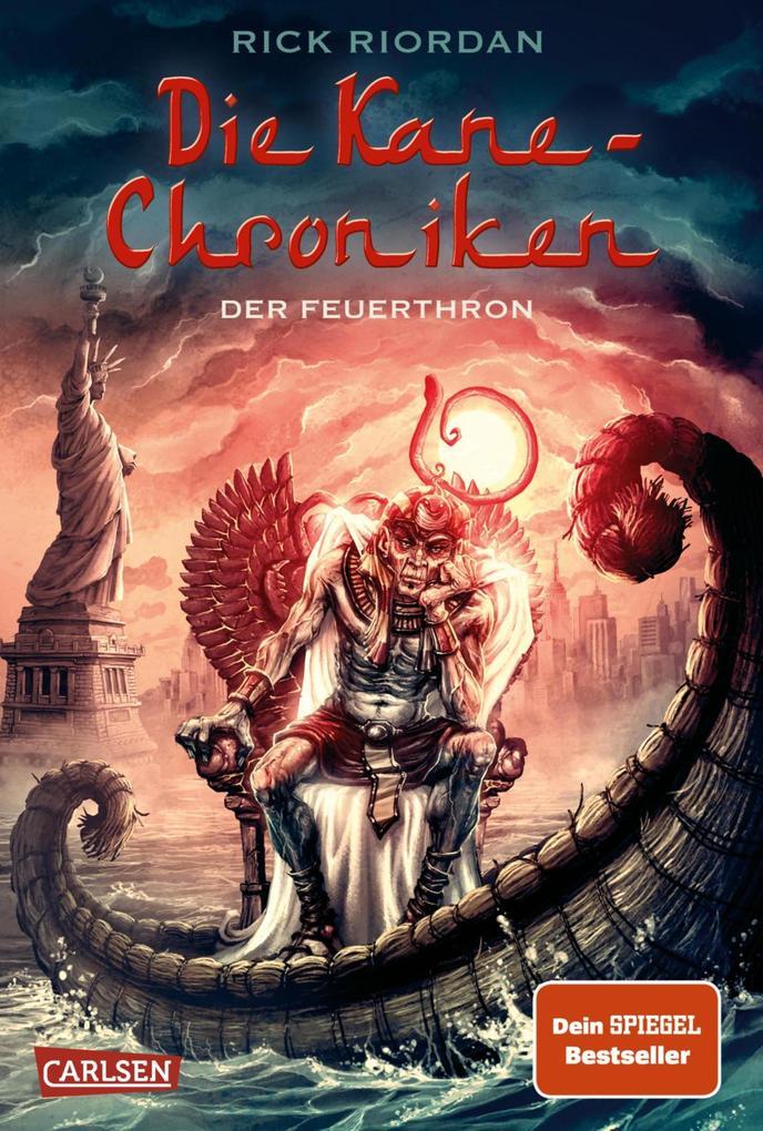 Die Kane-Chroniken 02. Der Feuerthron als eBook von Rick Riordan