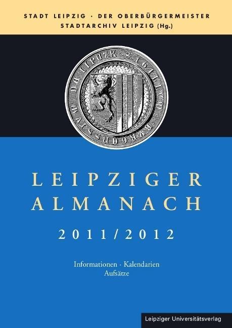 Leipziger Almanach 2011/2012 als Buch von