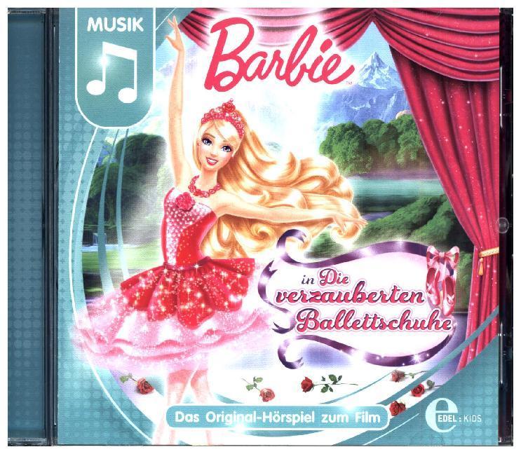 Barbie in: Die verzauberten Ballettschuhe als Hörbuch CD von