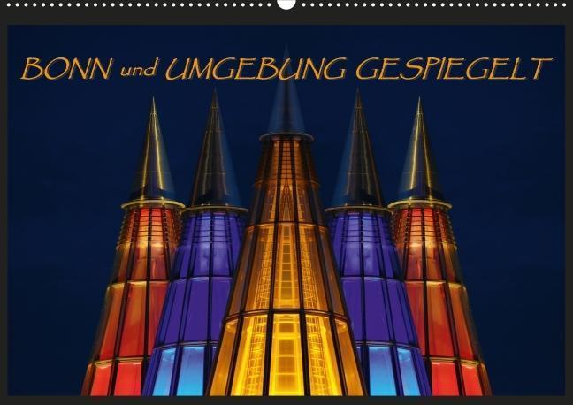 BONN und UMGEBUNG GESPIEGELT Posterbuch DIN A2 quer als Buch von BRASCHI Bonn