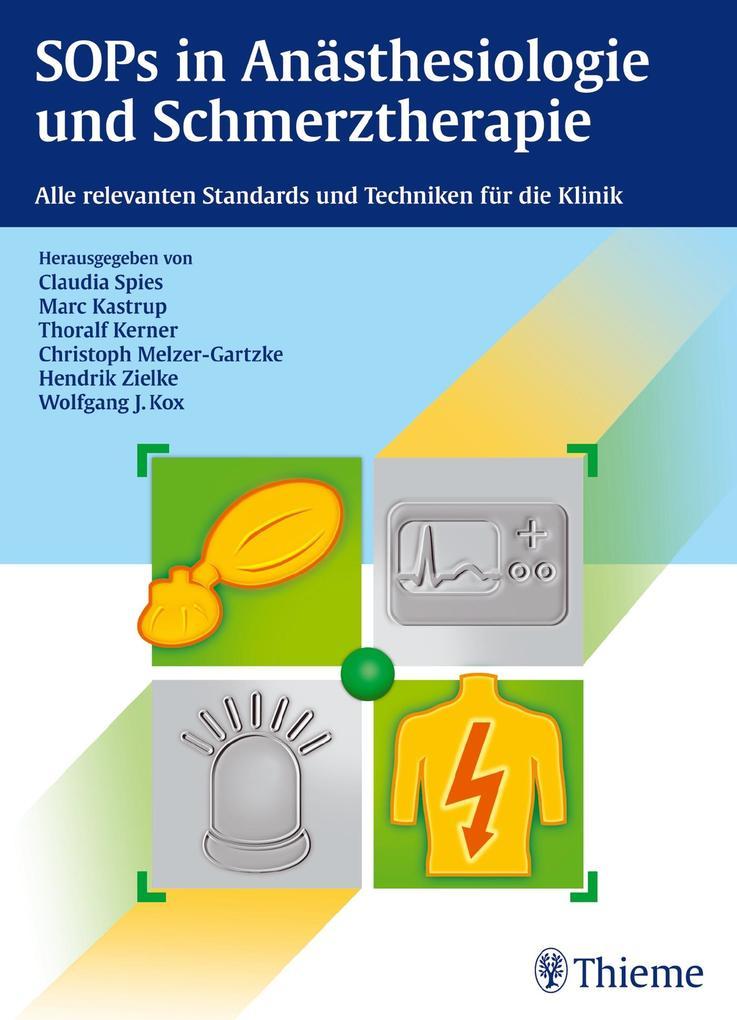 SOPs in Anästhesiologie und Schmerztherapie als Buch von