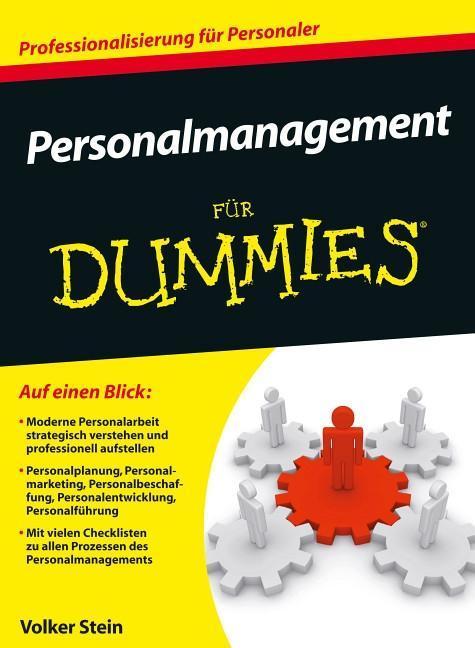 Personalmanagement für Dummies als Buch von Volker Stein