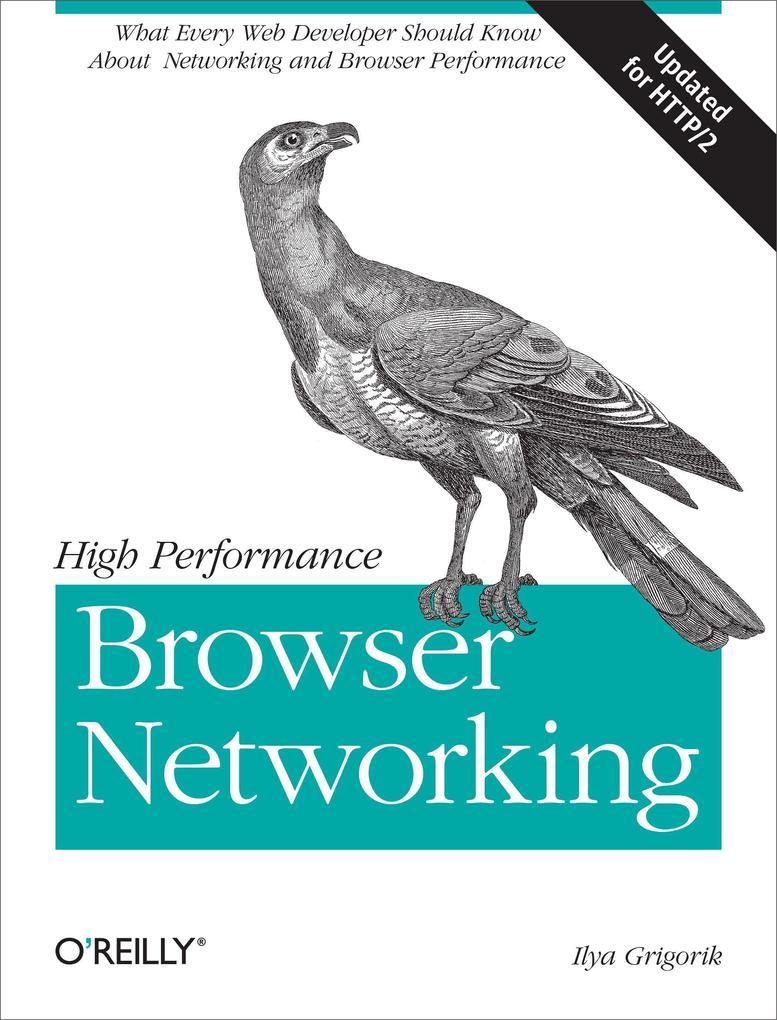 High Performance Browser Networking als Buch von Ilya Grigorik