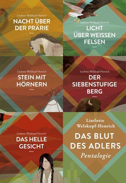 Das Blut des Adlers Band 1 bis 5 als Buch von Liselotte Welskopf-Henrich