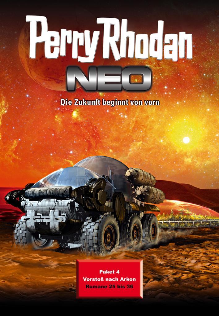 Perry Rhodan Neo Paket 4: Vorstoß nach Arkon als eBook von Leo Lukas, Bernd Perplies, Michelle Stern, Christian Humberg,