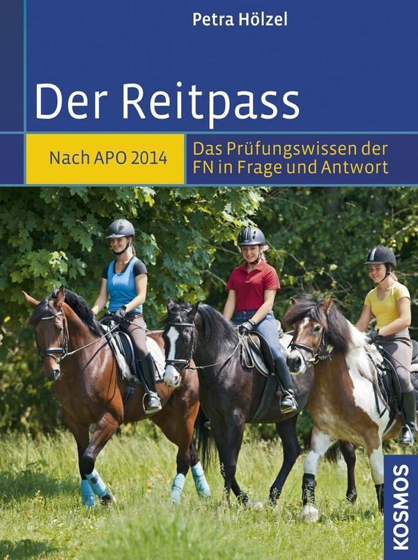 Der Reitpass als Buch von Petra Hölzel