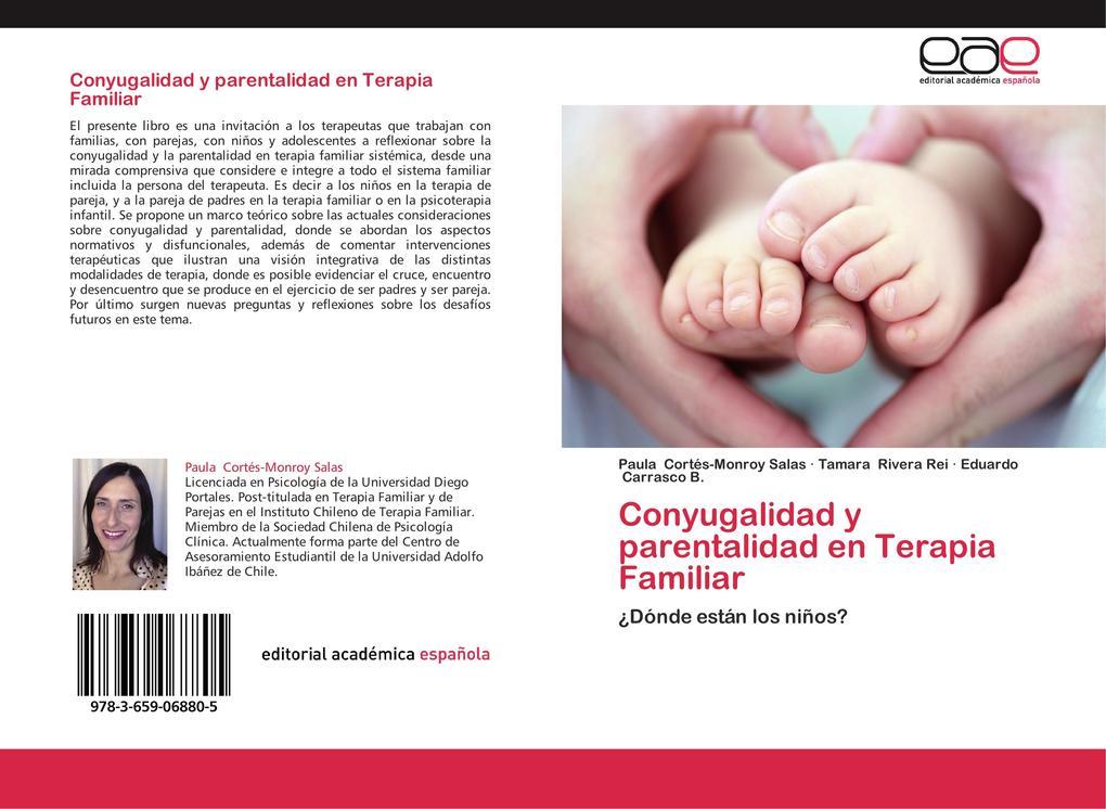 Conyugalidad y parentalidad en Terapia Familiar als Buch von Paula Cortés-Monroy Salas, Tamara Rivera Rei, Eduardo Carrasco B.