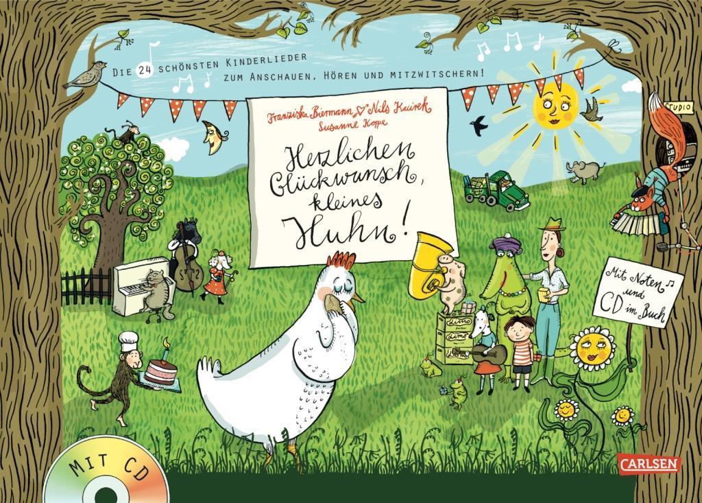 Herzlichen Glückwunsch, kleines Huhn! als Buch von Susanne Koppe