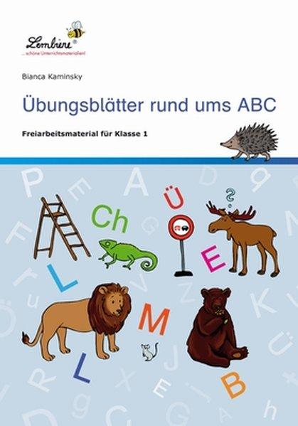 Übungsblätter rund ums ABC (PR) als Buch von Bianca Kaminsky