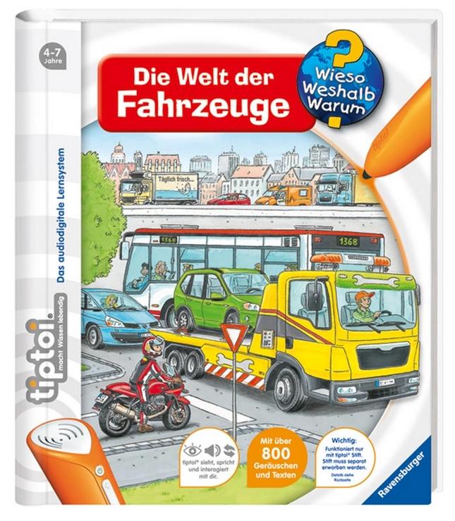 tiptoi® Die Welt der Fahrzeuge als Buch von Daniela Flucht