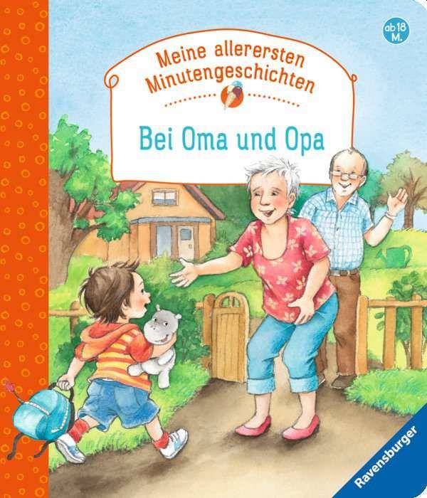 Bei Oma und Opa als Buch von Frauke Nahrgang