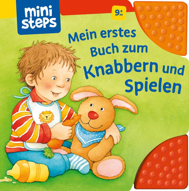 Mein erstes Buch zum Knabbern und Spielen als Buch von Sandra Grimm