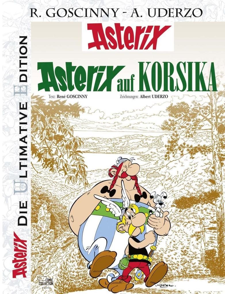 Die ultimative Asterix Edition 20 als Buch von René Goscinny