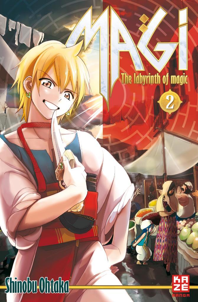 Magi - The Labyrinth of Magic 02 als Taschenbuch von Shinobu Ohtaka