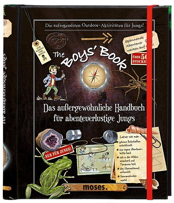 The Boys' Book als Buch von Michèle Lecreux, Célia Gallais, Clèmence de Roux  Luze