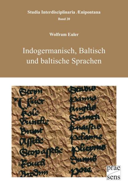 Indogermanisch, Baltisch und baltische Sprachen als Buch von Wolfram Euler