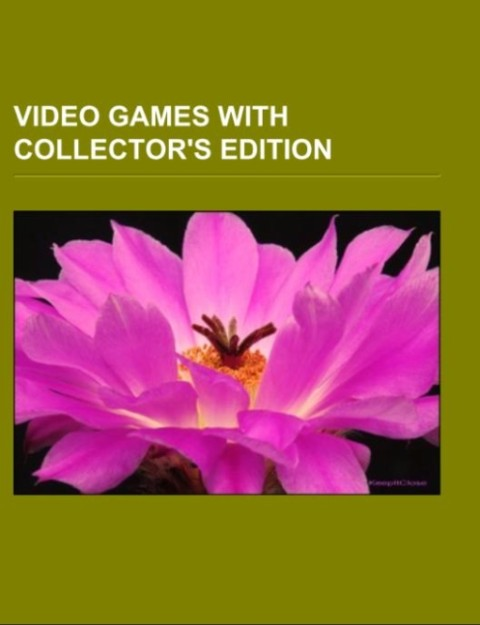 Video games with collector´s edition als Tasche...