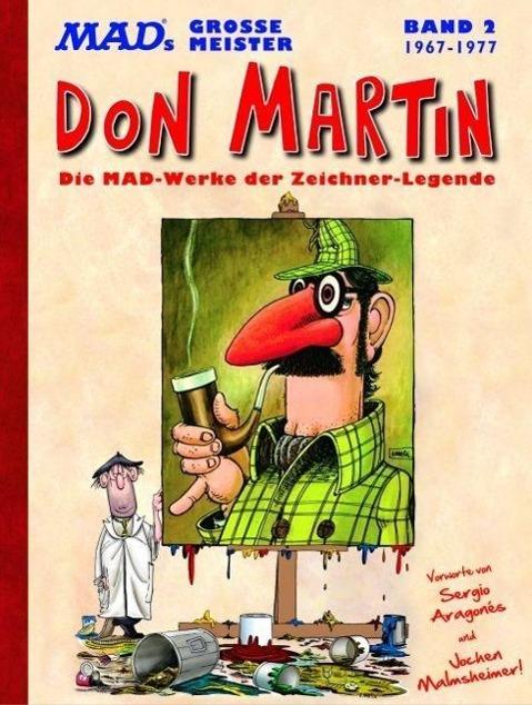 MADs große Meister: Don Martin als Buch von Don Martin
