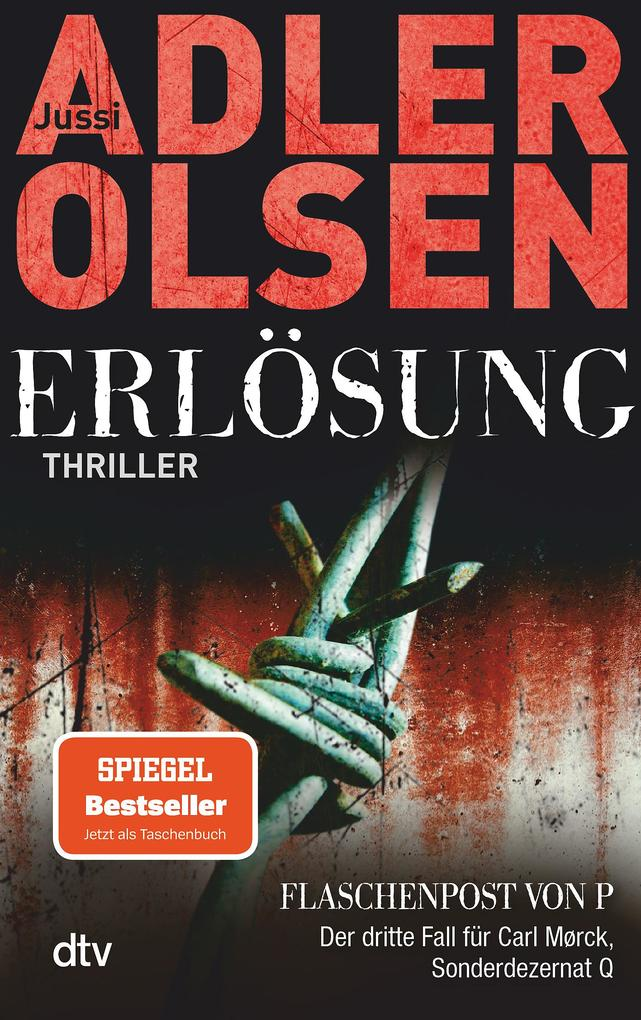 Erlösung als Taschenbuch von Jussi Adler-Olsen