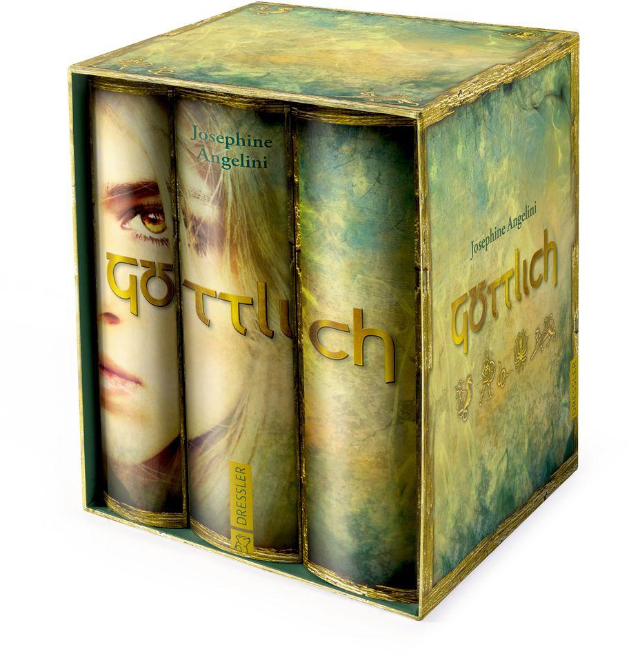 Göttlich verdammt/Göttlich verloren/Göttlich verliebt als Buch von Josephine Angelini