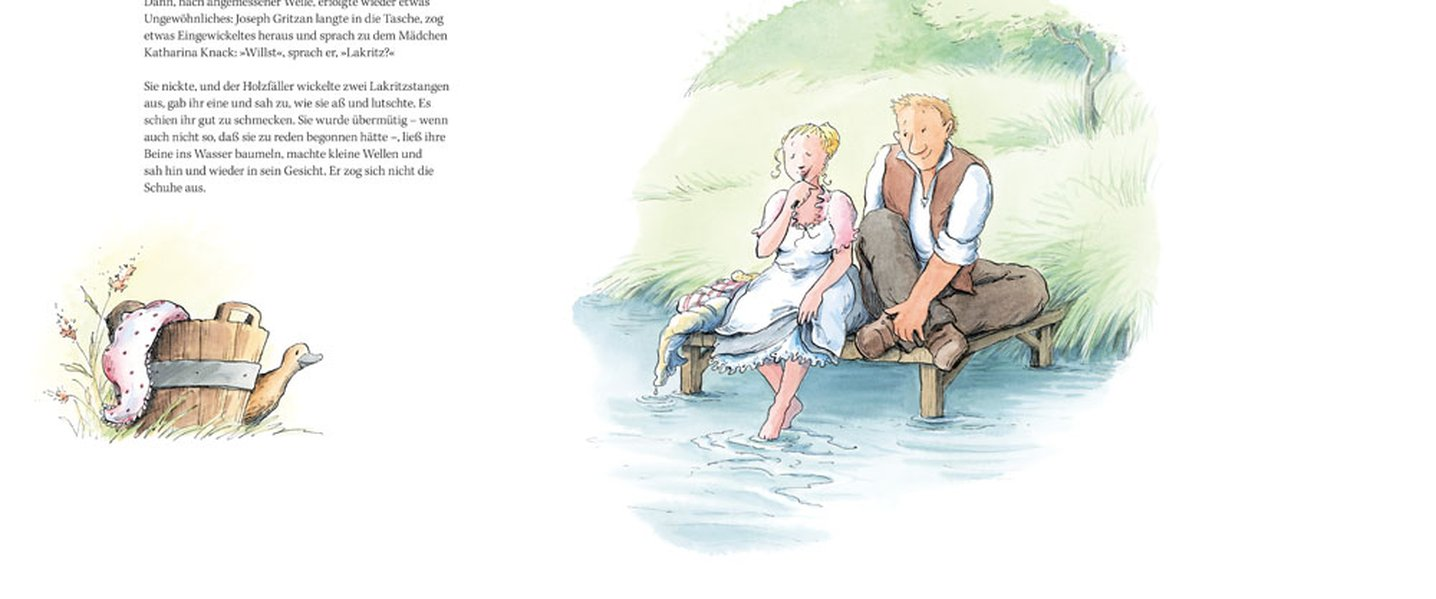 Eine Liebesgeschichte als Buch von Siegfried Lenz