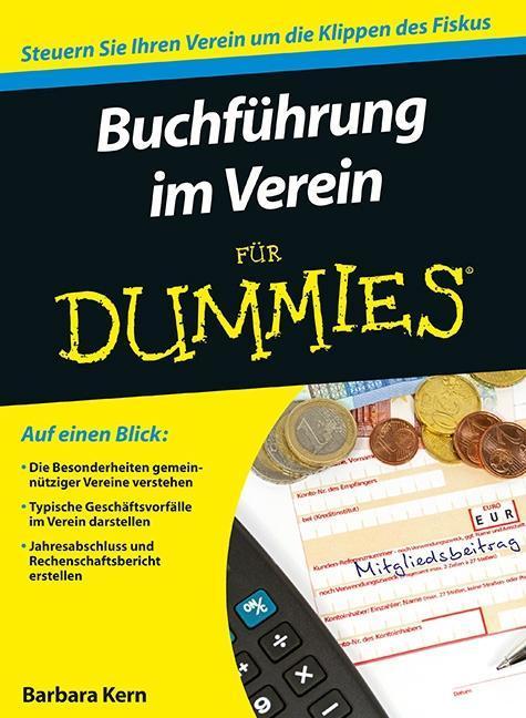 Buchführung im Verein für Dummies als Buch von Barbara Kern